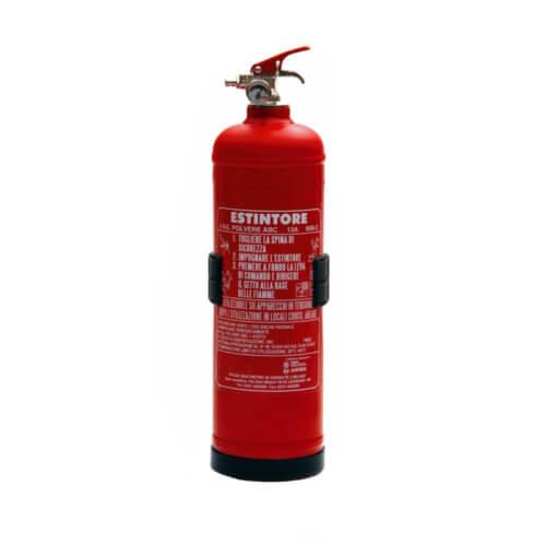 Estintore Portatile a Polvere da 2 kg - CAMPI Antincendio