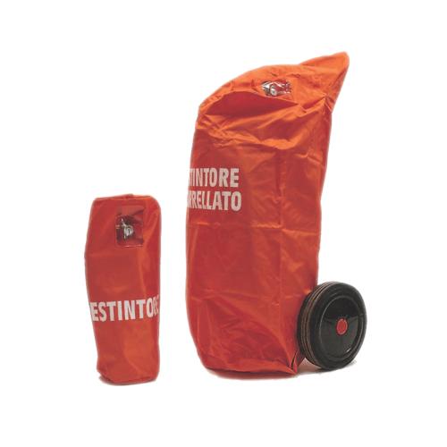 Cappucci Protezione per Estintori Carrellati da 30 a 50 Kg - CAMPI