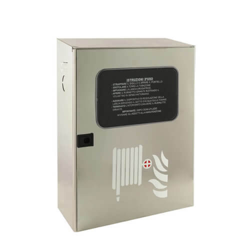 Cassetta UNI45 in Acciaio INOX per Idranti a Muro - CAMPI