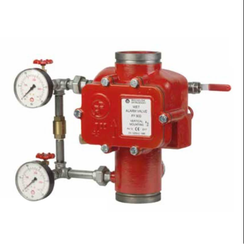 Valvola Impianto Sprinkler a Umido - CAMPI Antincendi