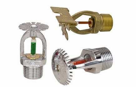 Testine Impianti Antincendio Sprinkler - CAMPI Antincendi